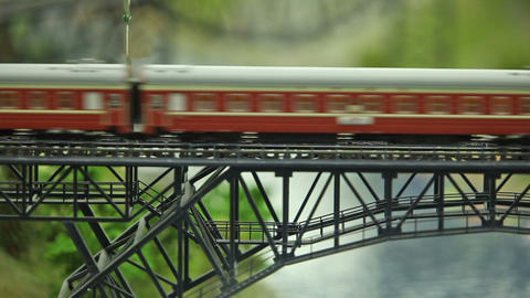 railway express in motion Live Action