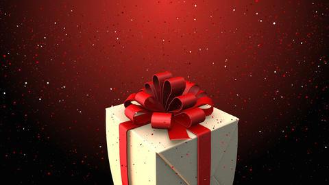 Gift valentine background Animation