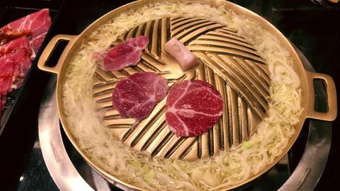 Japanese Cuisine Jingisukan Hot Plate Grill Food GIF