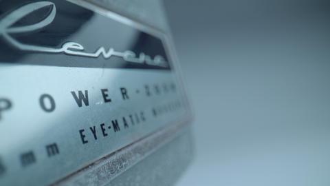 Vintage Revere 8mm Camera Logo Footage