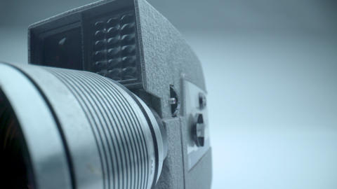 Vintage 8mm Camera Lens Footage