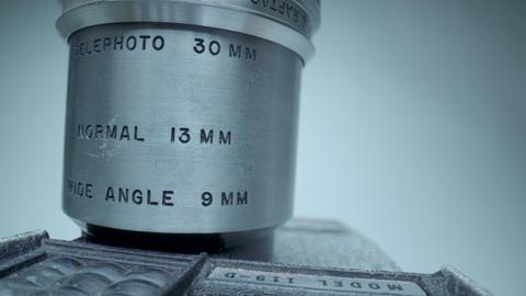 Vintage Zoom Lens Footage