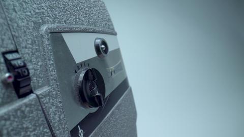 8mm Camera Cartridge Door Footage