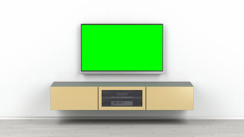 Tv in the living room Animation