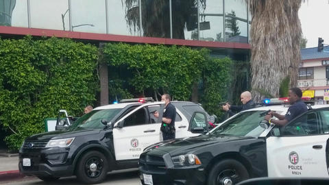 LAPD Hands Up Live Action