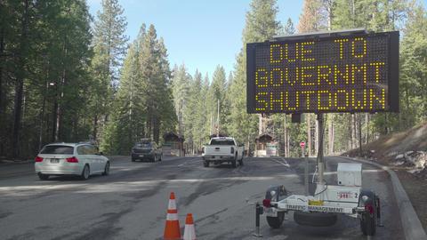 Gov't Shutdown w/ Traffic Footage