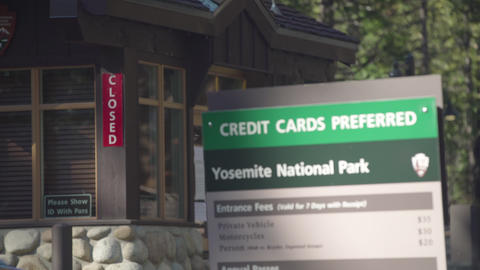 Closed National Park, Traffic Footage