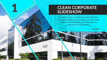 Corporate Slideshow 애프터 이펙트 템플릿