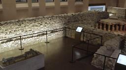 Ancient Architectural Underground Display Footage
