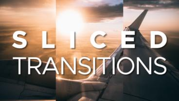 Rolling Sliced Transitions Premiere Pro Template
