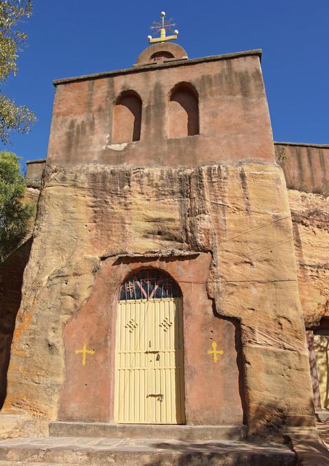 Monolithic church, Ethiopia, Africa Fotografía