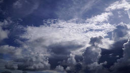 Intense clouds, time lapse ビデオ