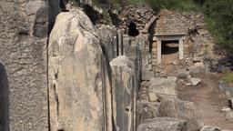 Turkey Efes Ephesos the ruins of the ancient antique city of ephesus 영상물