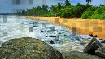 Mosaic Slideshow 애프터 이펙트 템플릿