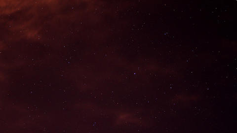 time lapse night sky Footage