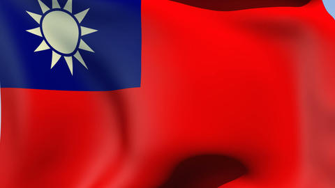 Flag of the Republic of China (Taiwan) Animation