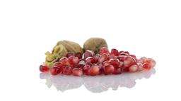 Pomegranate seed pile Footage