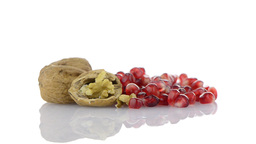 Pomegranate seed pile Stock Video Footage