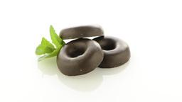 Chocolate donut cookies Footage