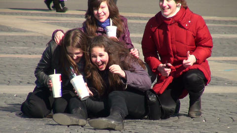 Girl friends Footage