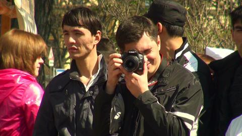Photographer Stock Video Footage