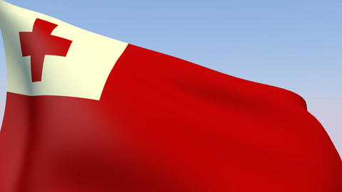 Flag of Tonga Animation