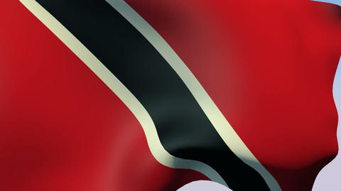 Flag of Trinidad and Tobago Animation
