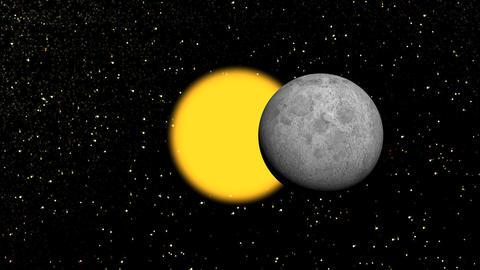 sun eclipse Stock Video Footage