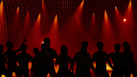 Disco Stage Dancers 10 Animation
