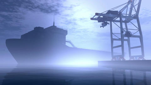 Industrial Port 6 Animation
