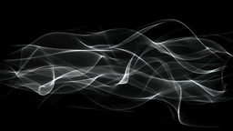 SMOKE LINES EFFECT MATE stock footage