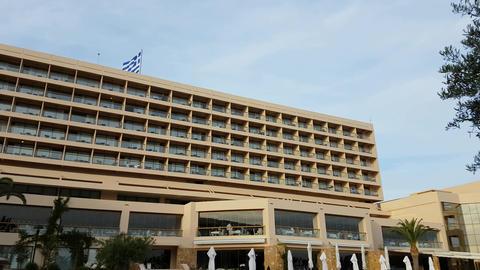 Sani resort hotel Halkidiki, Greece Footage