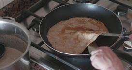 Bad pan - Pancake lumpy Footage