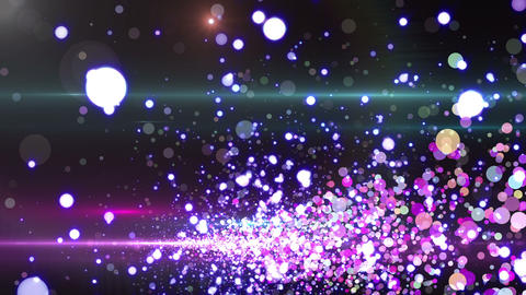 Lens Flares and Particles 16 Q3f 4k Animation