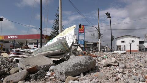tragic scene after powerful earthquake strikes Footage