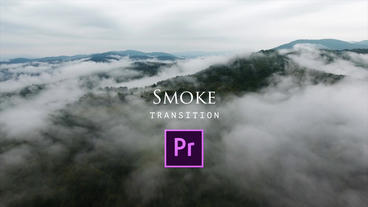 Smoke Transitions Premiere Pro Template