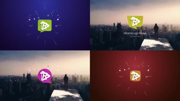 Clean Corporate Logo Reveals Premiere 2018cc Premiere Proテンプレート