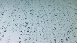 Water Droplets on White Surface Stock Video Footage