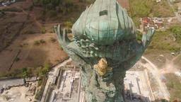 Garuda Wisnu Kencana cultural park Bali Footage