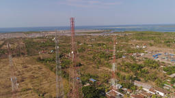 Cell phone towers 영상물