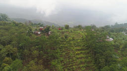 farmlands and village Bali, Indonesia Archivo