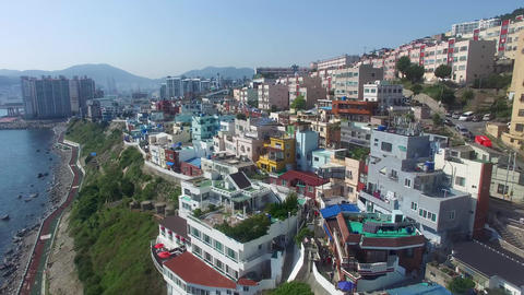 Huinnyeoul White Shoal Culture Village, Yeongdo, Yeong Island Live Action