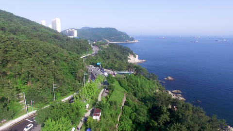 Sky Observatory at Yeongdo, Busan, South Korea Asia Live Action