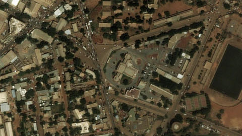 Earth Zoom In Zoom Out Niamey Niger Live Action