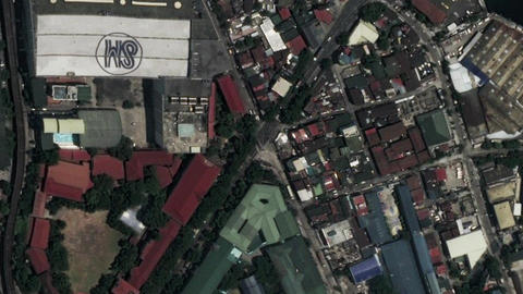 Earth Zoom In Zoom Out Manila The Philippines Live Action