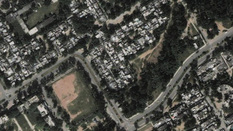 Earth Zoom In Zoom Out Islamabad Pakistan Live Action