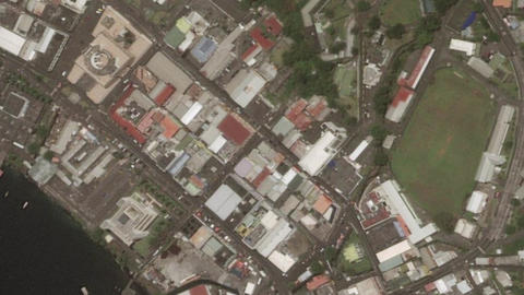 Earth Zoom In Zoom Out Kingstown Saint Vincent and the Grenadines Live Action