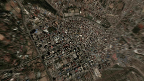 Earth Zoom In Zoom Out Nairobi Kenya Live Action