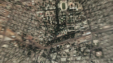 Earth Zoom In Zoom Out Bamako Mali Live Action