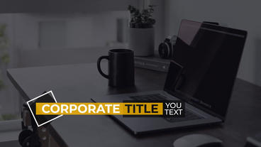 Corporate Titles Premiere Pro Template